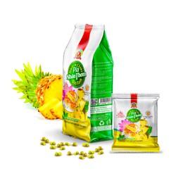 400g 4 Bánh PÍA chay THƠM chín ĐẬU xanh CHANH tươi GIÀU vitamin C, KHÔNG trứng muối & SẦU RIÊNG