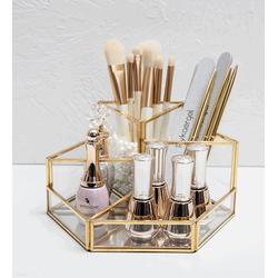 Hộp đựng dụng cụ làm đẹp cho phái nữ GOLDEN MAKEUP BOX