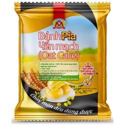 210g 2 Bánh PÍA chay YẾN mạch SẦU riêng ĐẬU xanh, có VITAMIN NHÓM B tốt cho hệ thần kinh, CHẤT XƠ nhuận trường