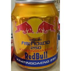 Nước tăng lực Bò húc Red Bull Thái Lan - Bò húc thái lon 250ml ( 1 lon ) - Bò cụng thái