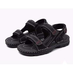 Giày Sandal Châu Âu Olist Màu Đen Thời Trang Big Size Men