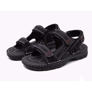 Giày Sandal Châu Âu Olist Màu Đen Thời Trang Big Size Men - GSCAOM2103 thumbnail
