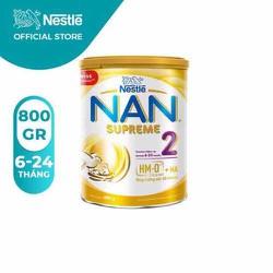 Sữa bột Nan Supreme 2 - Hộp 800g