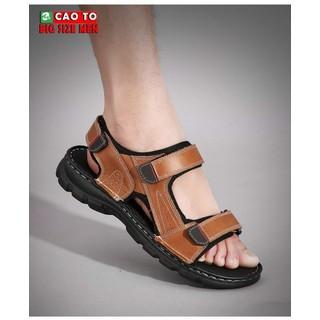 Giày Sandal Châu Âu Olist Màu Nâu Thời Trang Big Size Men - GSCAO2103 thumbnail