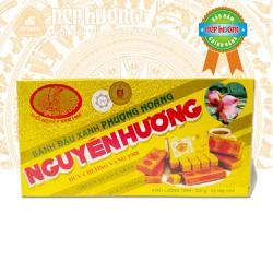Bánh đậu xanh Nguyên Hương - Hộp 400g - Đặc sản Hải Dương