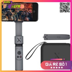 Gimbal Zhiyun Smooth X - Tay cầm chống rung cho điện thoại kết hợp gậy tự sướng,gậy selfie- HÀNG CHÍNH HÃNG