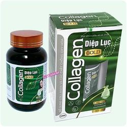 Viên Uống D.iệp Lục Ca.llagen Gold- giúp giữ dáng đẹp da, tăng cường sức khỏe- Hộp 30 viên- Xanh đậm