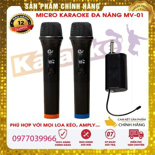 [2 micro]micro karaoke không dây micro karaoke không dây