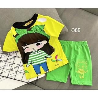 Bộ bé gái thun 3D size đại 085 - 085506172 thumbnail