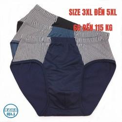 Quan lot nam tam giác cotton thoáng khí thoải mái BIG SIZE SIZE LỚN(65 đến 115kg) quần sịp nam quần lót nam cao cấp