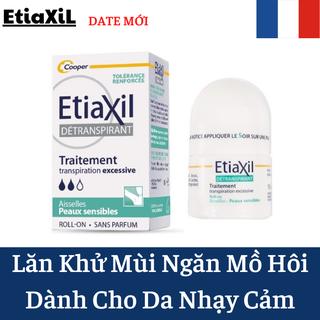 [Chính Hãng] Lăn Khử Mùi Etiaxil Cho Da Nhạy Cảm 15ml Màu Xanh- Lăn Khử Mùi Hôi Nách- Khỏi 100% - Etiaxil thumbnail