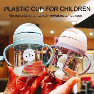 Bình nước tập uống cho bé uống sữa uống nước có van chống sặc cao cấp 300ml - BINHUONG03 thumbnail