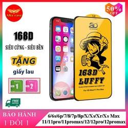 Kính cường lực iPhone 168D Full Màn SD DESIGN ip 6/6s plus/7/7plus/8/8plus/x/xr/xs max/11/11 pro/11 promax/12/12pro/12 promax