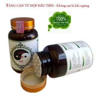 [Không phải là thuốc ] Tăng cân thảo dược Hồng Sâm dạng viên 40 viên có chứng nhận ISO ATVSTP - cam kết tăng cân ngay lọ đầu sử dụng - tchs thumbnail
