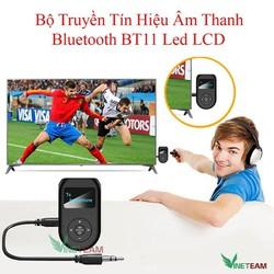 Thiết Bị Thu Phát Âm Thanh Bluetooth Chuyên Nghiệp Bt11 màn hình LCD