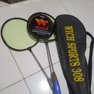 Bộ 2 cây vợt cầu lông(tặng kèm cầu) - Bộ vợt cầu lông kèm cầu đánh thumbnail