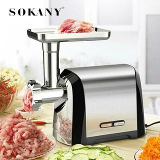 Máy xay thịt cá, Máy xay thực phẩm công nghiệp Sokany 3200W [ĐƯỢC KIỂM HÀNG] 41668571 - 41668571 thumbnail