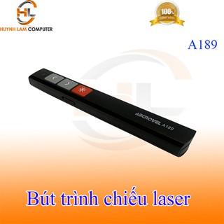 Bút trình chiếu Slide Laser không dây Wireless ABCNOVEL A189 (màu đen) - 230321A189 thumbnail