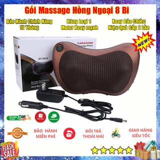 Gối Massage Hồng Ngoại 8 Bi Cao Cấp Loại 1 - MS8N thumbnail