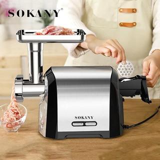 Máy xay thịt cá, Máy xay thực phẩm công nghiệp Sokany 3200W [ĐƯỢC KIỂM HÀNG] 41656709 - 41656709 thumbnail