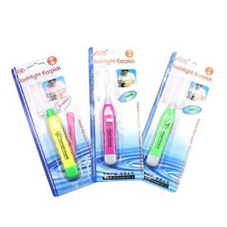 Dụng cụ lấy ráy tai có đèn phát sáng (vỉ giấy) - raytai thumbnail