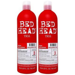 Tigi - Cặp gội xả Tigi đỏ phục hồi tóc hư tổn 750ml - TIGI thumbnail