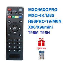 Remote điều khiển ANDROID TV BOX T95M T95N M8S M8N M8C M12 MXQ 4K Pro H96 X96 MINI TIVI BOX (HÀNG XỊN – Tặng pin)