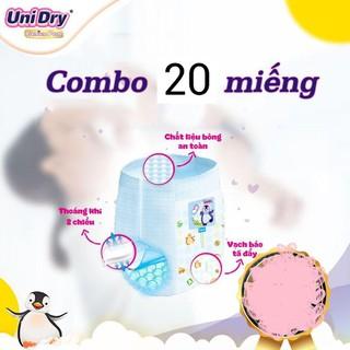 COMBO 20 MIẾNG TÃ QUẦN UNIDRY SIZE M CHO BÉ - BIM10 1
