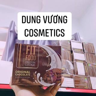 freeship Bánh Thảo Dược Giảm Cân Fit Food Protein Cookie 24 bánh - CDFsjfv52N thumbnail