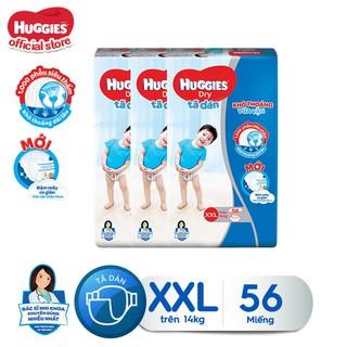 Combo 3 tã dán Huggies Diapers Super Jumbo XXL56 - TUHG000353CB thumbnail