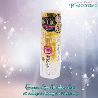 Tinh Chất Essence Đậm Đặc Nhau Thai Và Collagen Dưỡng Da Trắng Mịn Mờ Thâm Sạm Ngăn Ngừa Lão Hóa Từ Nhật Bản White Label Premium Placenta Rich Gold Essence 180ML - ESSEN NHAU THAI thumbnail