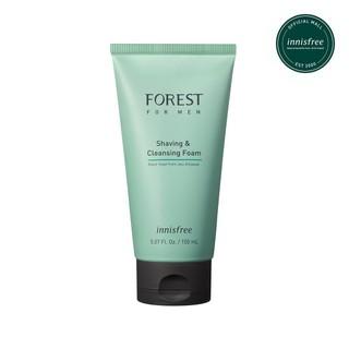 Sữa rửa mặt kết hợp làm mềm vùng da cạo râu innisfree Forest for men Shaving & Cleansing Foam 150ml - sữa rửa mặt innisfree làm mềm vùng da cạo râu thumbnail