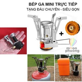 Bếp ga mini du lịch dã ngoại cắm trại gắn trực tiếp vào bình gas - MUÔN PHƯƠNG SHOP - MP0162 thumbnail