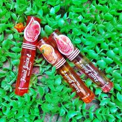 Son Dưỡng Môi Fruit Luice 70081 không màu, dưỡng ẩm, bóng môi - HUKB451