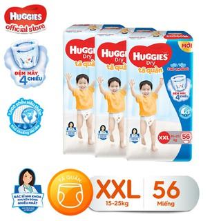 Combo 3 tã quần Huggies Pants Super Jumbo XXL56 - TUHG000202CB thumbnail