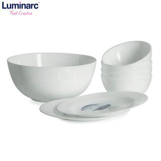 Bộ tô chén đĩa thủy tinh Luminarc Diwali Evolution 7 món - 2152817 thumbnail