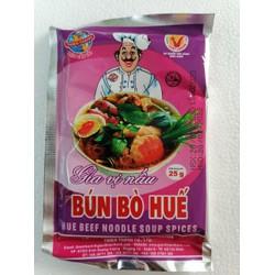 [25g] Bột gia vị nấu bún bò Huế [VN] THIÊN THÀNH Hue Beef Noodle Soup Spices (halal) (tht-hk)