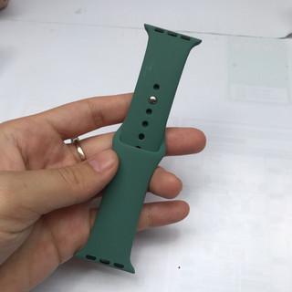 FREESHIP- Dây cao su đồng hồ Apple Watch loại cao cấp- size 38 40 42 44mm (Chống hôi,thoát nước) - 35254648945612 5