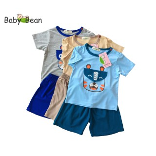 Đồ Bộ Thun Lạnh Tay Ngắn Bé Trai BabyBean (6kg-16kg) - BB299 thumbnail