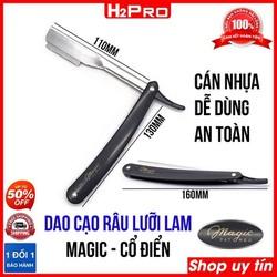 Dao cạo râu lưỡi lam Magic H2Pro, Dao cạo râu cổ điển hay dùng trong salon tóc