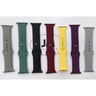 FREESHIP- Dây cao su đồng hồ Apple Watch loại cao cấp- size 38 40 42 44mm (Chống hôi,thoát nước) - 35254648945612 2
