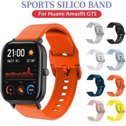 [Amazfit 20mm] Dây silicone đeo tay 20mm cho đồng hồ thông minh Xiaomi Huami Amazfit GTS/GTR 42mm/ Bip Lite Youth