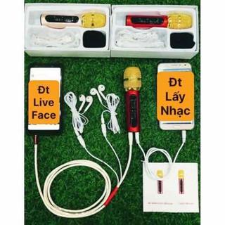 Mic C11 nâng cấp 2 dây bắt xa 2 m Tặng kèm tai nghe - mic c11 nâng cấp 2 dây thumbnail