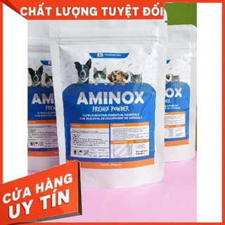 AMINOX - Sản phẩm tăng cơ bắp, tăng cường hệ thống miễn dịch, cho hệ xương chắc khoẻ cho thú cưng - 100g 5.0 - AMINOX-100 thumbnail