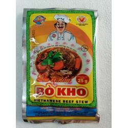 [25g] Bột gia vị nấu bò kho [VN] THIÊN THÀNH Vietnamese Beef Stew (halal) (tht-hk)
