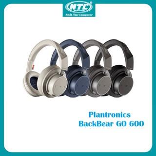 Tai nghe Bluetooth chụp tai cách âm Over-ear Plantronics BACKBEAT GO 600 - Hãng phân phối chính thức - PLTGO600 thumbnail