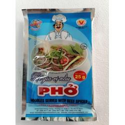 [25g] Bột gia vị nấu phở [VN] THIÊN THÀNH Noodles Served with Beef Spices (halal) (tht-hk)