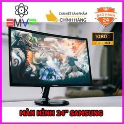 Màn Hình Cong SamSung 24inch FullHD 4ms 60Hz FreeSync VA - Hàng Chính Hãng