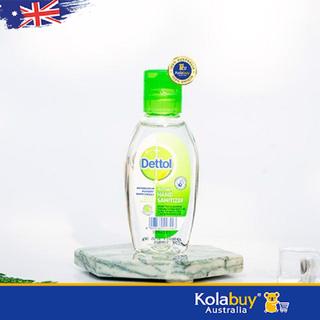 Nước rửa tay khô diệt khuẩn Dettol Instant Hand Sanitizer 50ml chuẩn Úc - NRTDET003 thumbnail