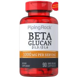 Viên uống hỗ trợ hệ miễn dịch Betaglucan Piping Rock 1000mg 90 viên